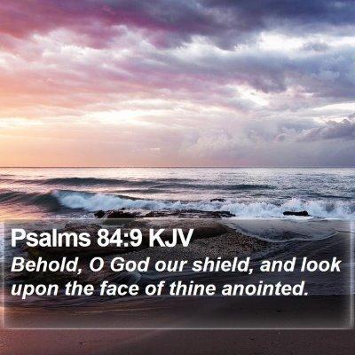 Psalms 84:9 KJV Bible Verse Image