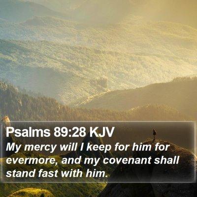 Psalms 89:28 KJV Bible Verse Image