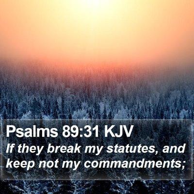 Psalms 89:31 KJV Bible Verse Image