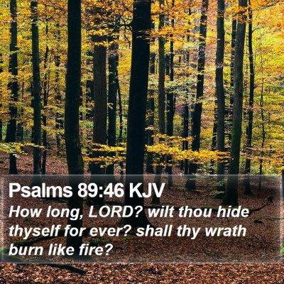 Psalms 89:46 KJV Bible Verse Image