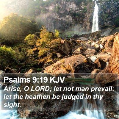 Psalms 9:19 KJV Bible Verse Image