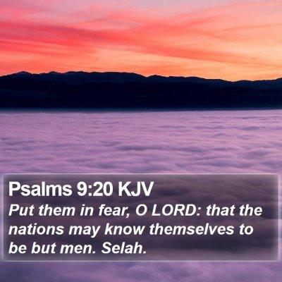 Psalms 9:20 KJV Bible Verse Image