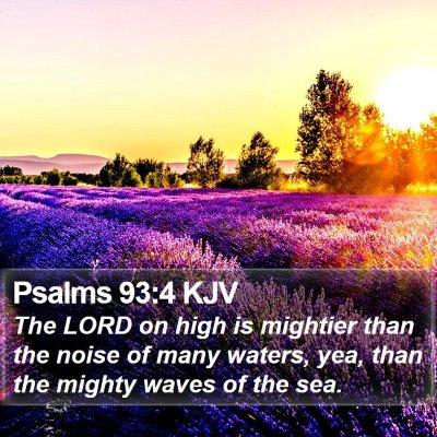 Psalms 93:4 KJV Bible Verse Image