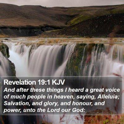 Revelation 19:1 KJV Bible Verse Image