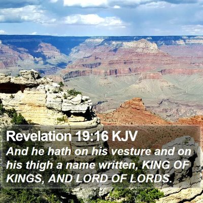 Revelation 19:16 KJV Bible Verse Image