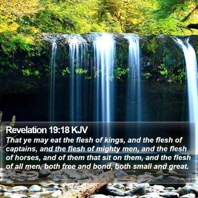 Revelation 19:18 KJV Bible Verse Image