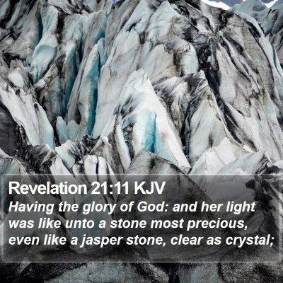 Revelation 21:11 KJV Bible Verse Image