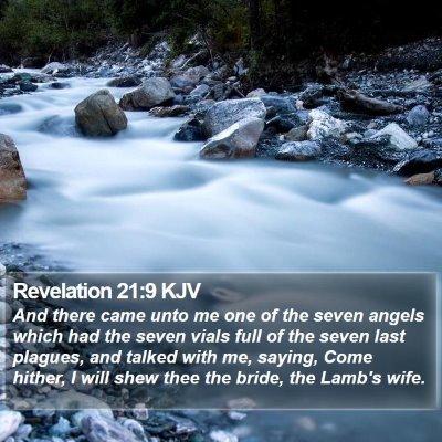 Revelation 21:9 KJV Bible Verse Image