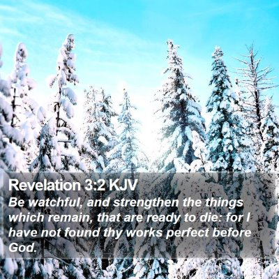 Revelation 3:2 KJV Bible Verse Image