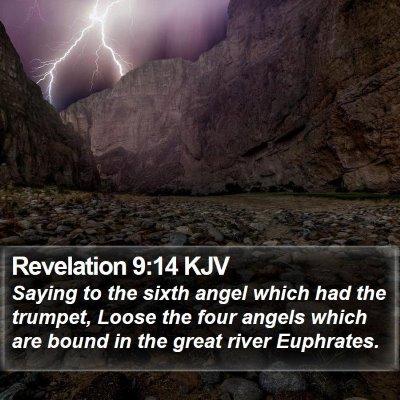 Revelation 9:14 KJV Bible Verse Image