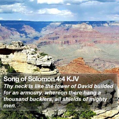 Song of Solomon 4:4 KJV Bible Verse Image