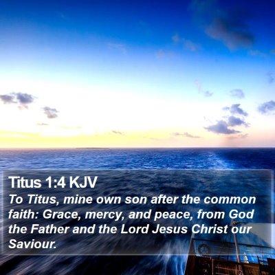 Titus 1:4 KJV Bible Verse Image