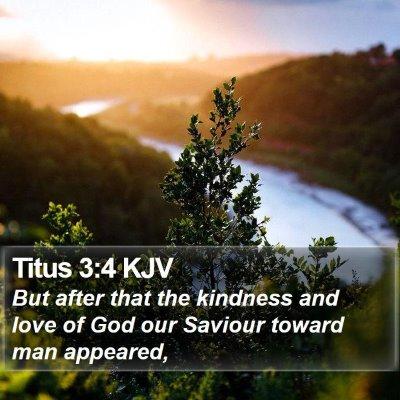 Titus 3:4 KJV Bible Verse Image