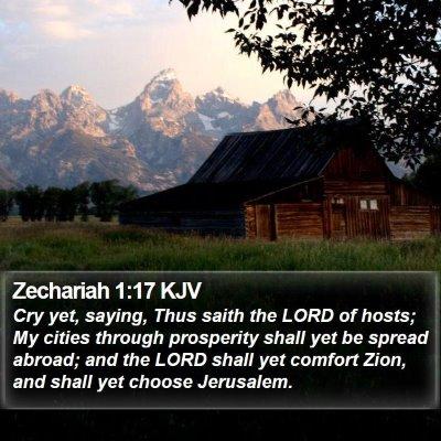 Zechariah 1:17 KJV Bible Verse Image