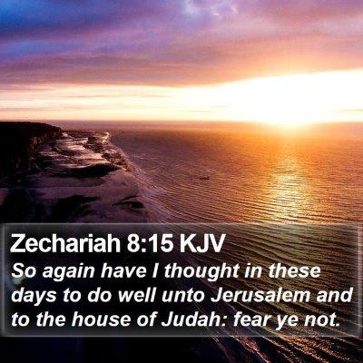 Zechariah 8:15 KJV Bible Verse Image