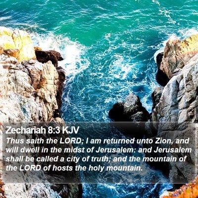 Zechariah 8:3 KJV Bible Verse Image