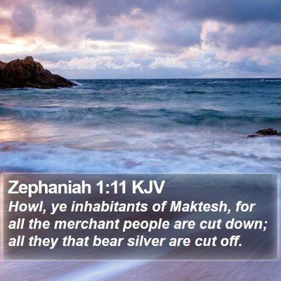 Zephaniah 1:11 KJV Bible Verse Image