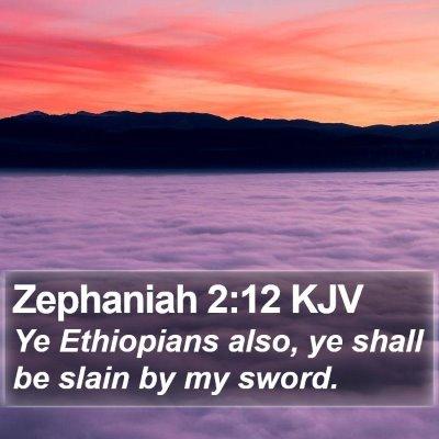 Zephaniah 2:12 KJV Bible Verse Image
