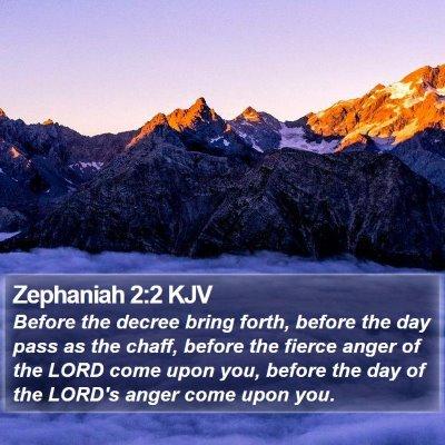 Zephaniah 2:2 KJV Bible Verse Image