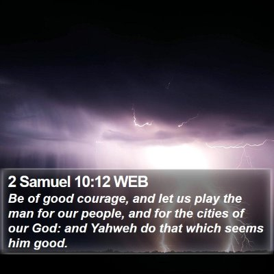 2 Samuel 10:12 WEB Bible Verse Image