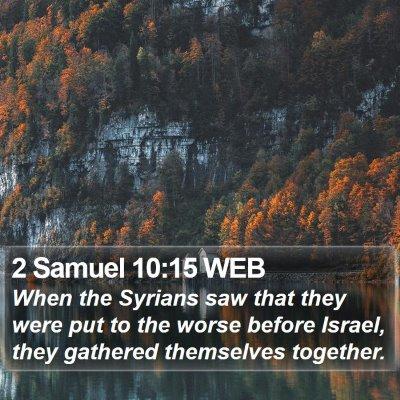 2 Samuel 10:15 WEB Bible Verse Image