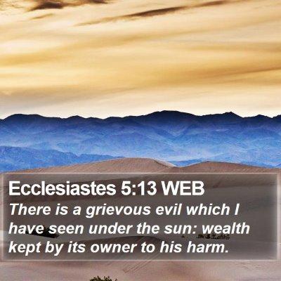 Ecclesiastes 5 Scripture Images - Ecclesiastes Chapter 5